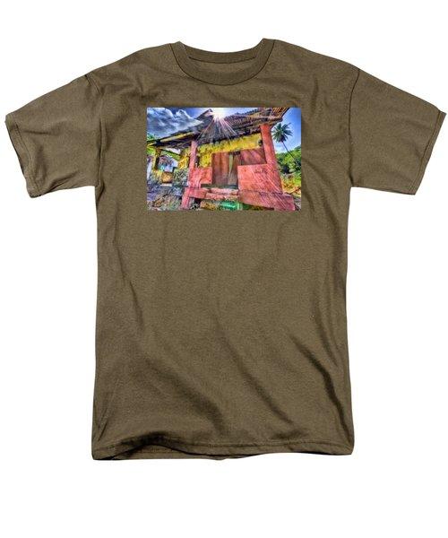 Derelict House Men's T-Shirt  (Regular Fit) by Nadia Sanowar