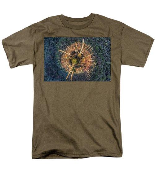 Men's T-Shirt  (Regular Fit) featuring the photograph Desert Big Bang by Lynn Geoffroy