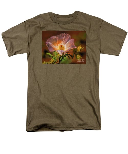 Desert Flower  ... Men's T-Shirt  (Regular Fit) by Chuck Caramella