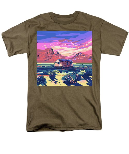 Desert Landscape Men's T-Shirt  (Regular Fit) by Bekim Art