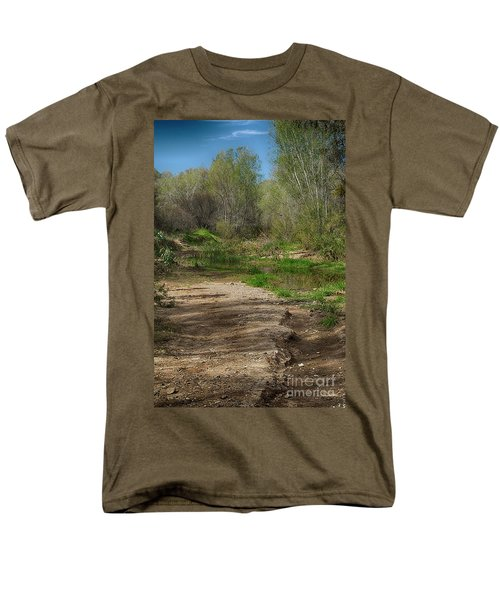 Men's T-Shirt  (Regular Fit) featuring the photograph Desert Oasis by Anne Rodkin