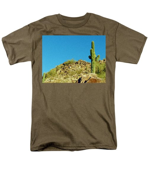 Desert Sky Men's T-Shirt  (Regular Fit) by Judi Saunders