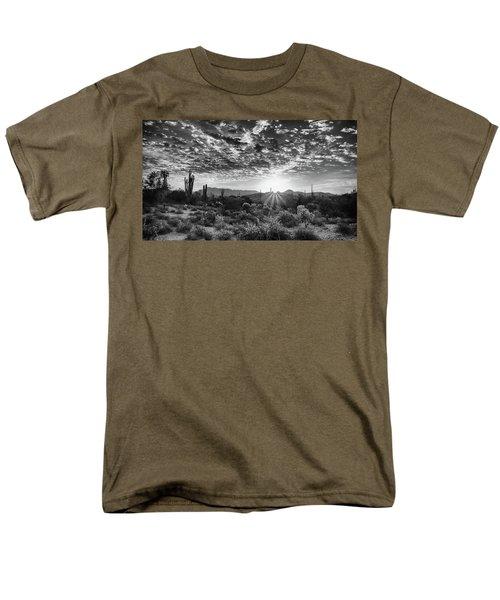 Desert Sunrise Men's T-Shirt  (Regular Fit) by Monte Stevens