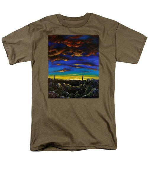 Desert View Men's T-Shirt  (Regular Fit) by Lance Headlee