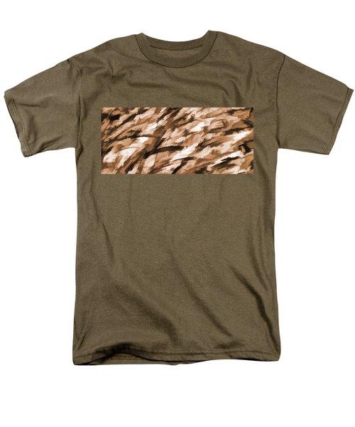 Designer Camo In Beige Men's T-Shirt  (Regular Fit) by Bruce Stanfield