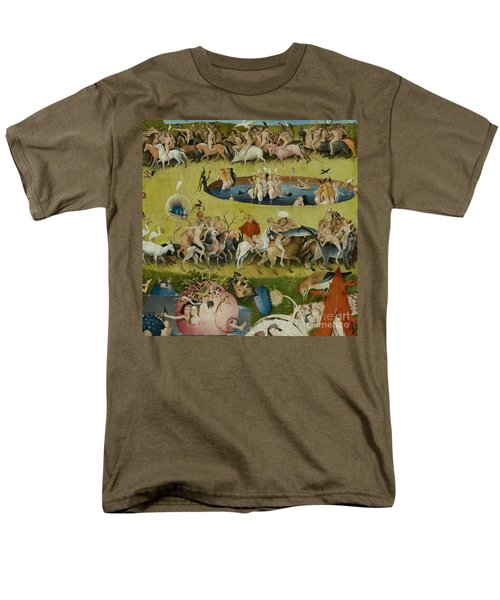 Detail From The Central Panel Of The Garden Of Earthly Delights Men's T-Shirt  (Regular Fit) by Hieronymus Bosch