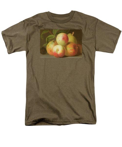 Detail Of Apples On A Shelf Men's T-Shirt  (Regular Fit) by Jakob Bogdany