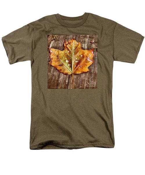 Men's T-Shirt  (Regular Fit) featuring the photograph Dew Diligence by Heather King
