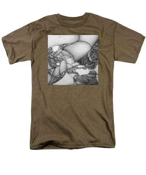 Digitized Ballpoin Xxv Men's T-Shirt  (Regular Fit) by Jack Dillhunt