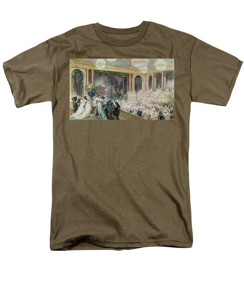 Dinner At The Tuileries Men's T-Shirt  (Regular Fit) by Henri Baron