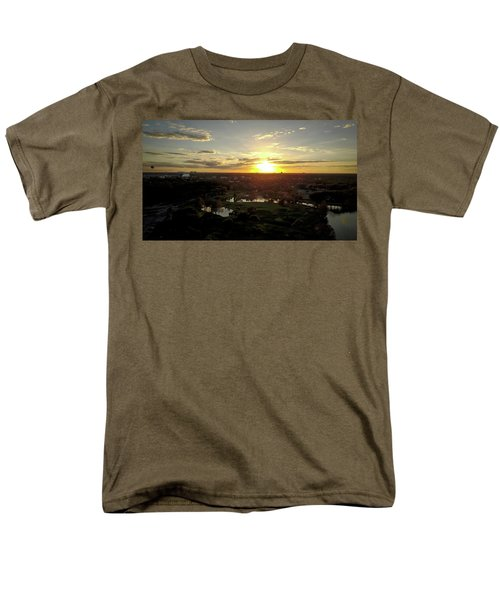 Men's T-Shirt  (Regular Fit) featuring the photograph Disney Sunset by Michael Albright