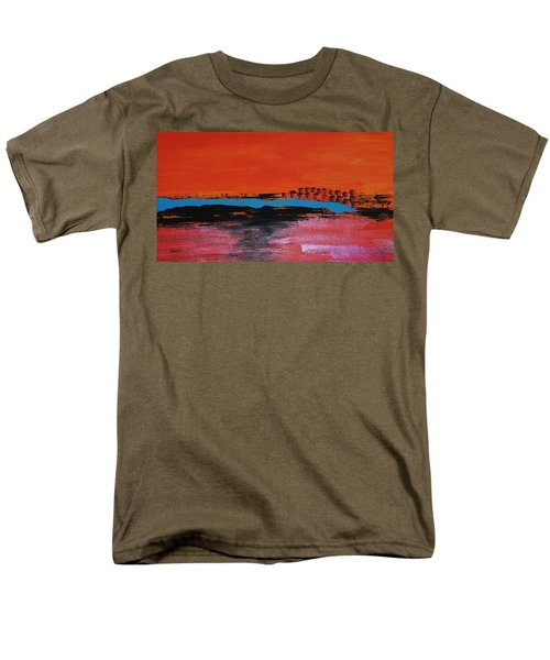 Distant City Men's T-Shirt  (Regular Fit) by Haleh Mahbod