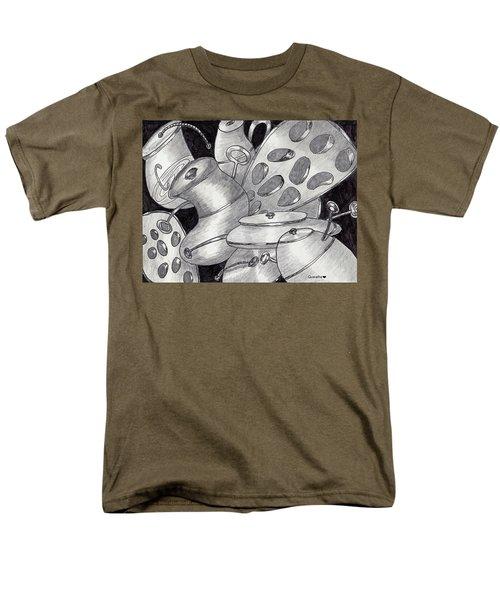Distorted Images Men's T-Shirt  (Regular Fit) by Quwatha Valentine
