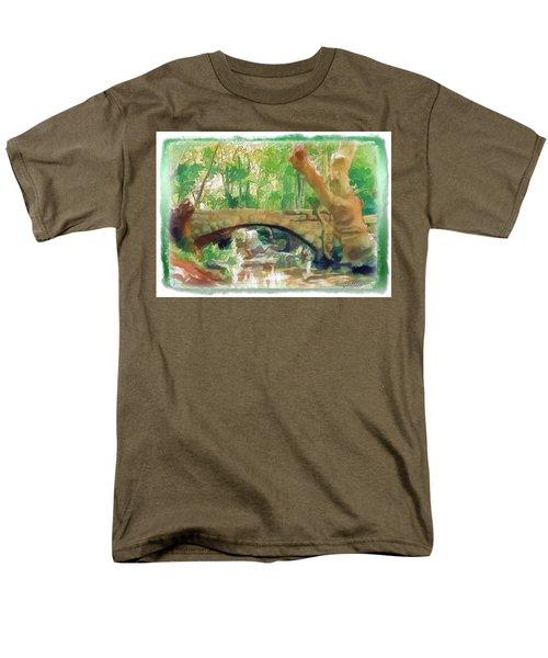 Do-00457 Janneh Bridge Men's T-Shirt  (Regular Fit) by Digital Oil