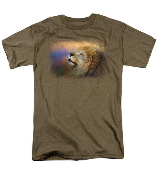 Do Lions Go To Heaven? Men's T-Shirt  (Regular Fit)