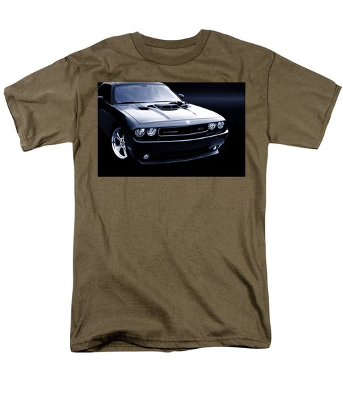 Dodge Challenger Blackbird Sr-71 Men's T-Shirt  (Regular Fit) by Thomas Burtney