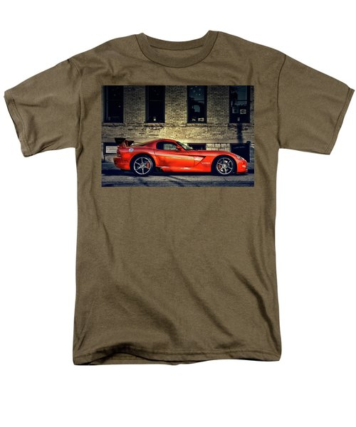 Men's T-Shirt  (Regular Fit) featuring the photograph Dodge Viper by Joel Witmeyer