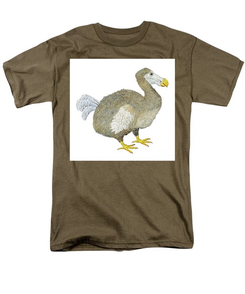 Men's T-Shirt  (Regular Fit) featuring the painting Dodo Bird Protrait by Thom Glace