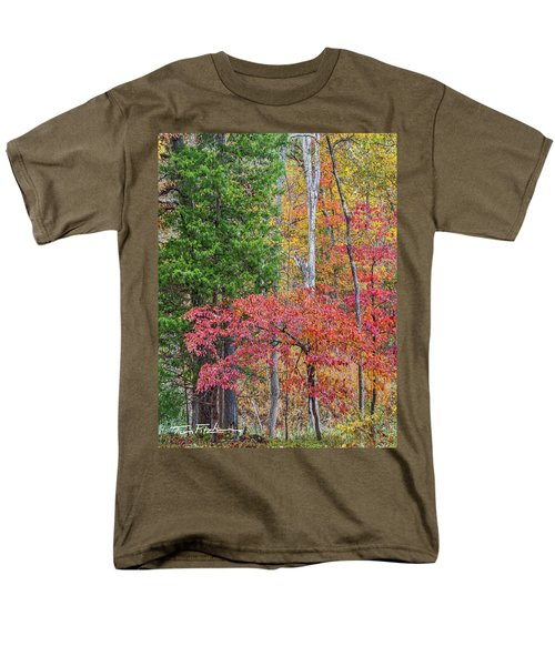 Dogwood And Cedar Men's T-Shirt  (Regular Fit) by Tim Fitzharris