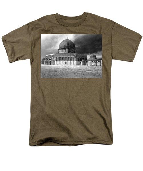 Dome Of The Rock - Jerusalem Men's T-Shirt  (Regular Fit) by Munir Alawi