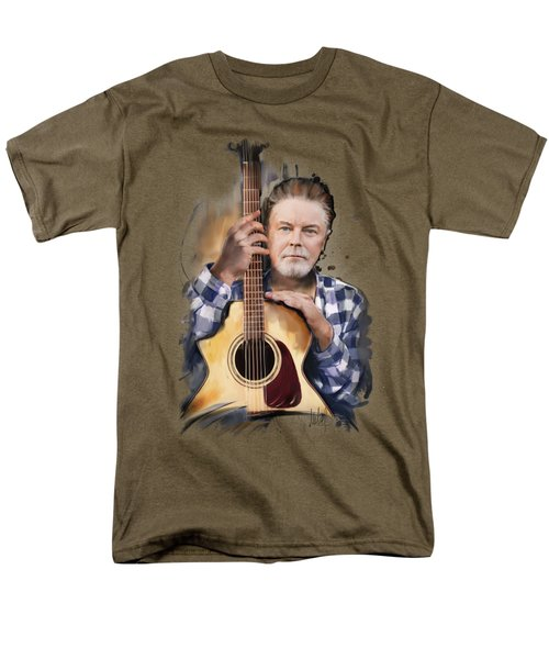 Don Henley Men's T-Shirt  (Regular Fit) by Melanie D