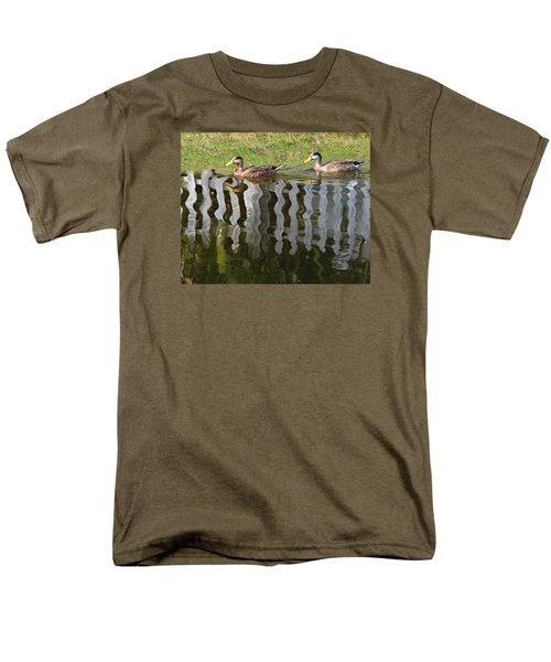 Don't Fence Us In Men's T-Shirt  (Regular Fit) by Kathy M Krause