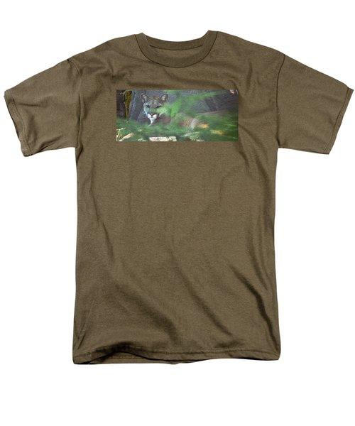 Don't Make A Sound Men's T-Shirt  (Regular Fit) by Greg Slocum
