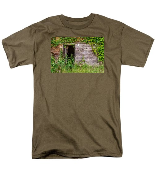 Men's T-Shirt  (Regular Fit) featuring the photograph Door Ajar by Christopher Holmes