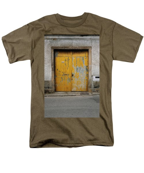 Men's T-Shirt  (Regular Fit) featuring the photograph Door No 152 by Marco Oliveira