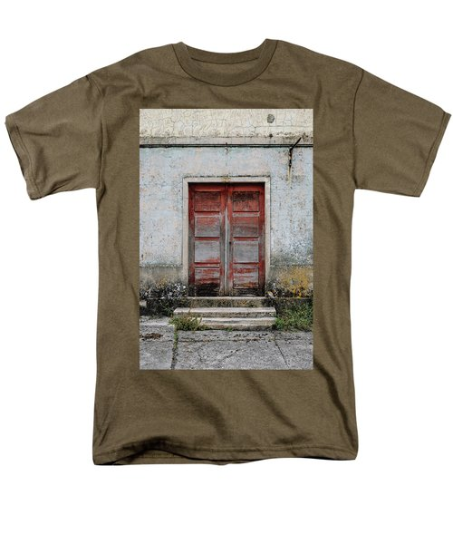 Men's T-Shirt  (Regular Fit) featuring the photograph Door No 175 by Marco Oliveira