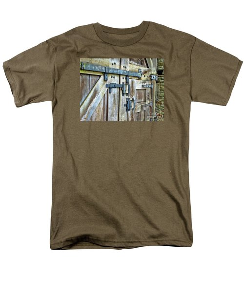 Doors At Caerphilly Castle Men's T-Shirt  (Regular Fit) by Judi Bagwell