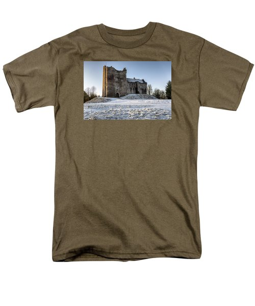 Doune Castle In Central Scotland Men's T-Shirt  (Regular Fit) by Jeremy Lavender Photography