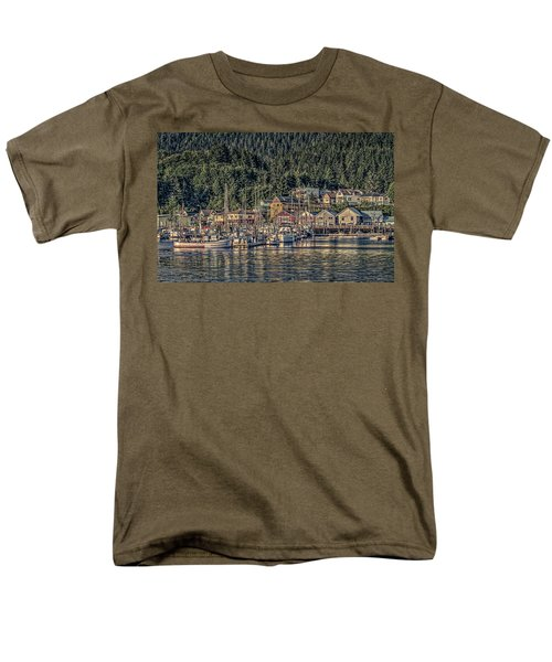 Men's T-Shirt  (Regular Fit) featuring the photograph Down At The Basin by Timothy Latta