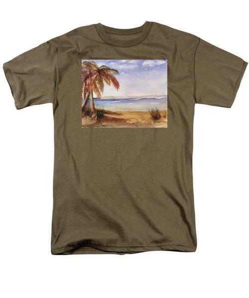 Down By The Sea Men's T-Shirt  (Regular Fit) by Heidi Patricio-Nadon