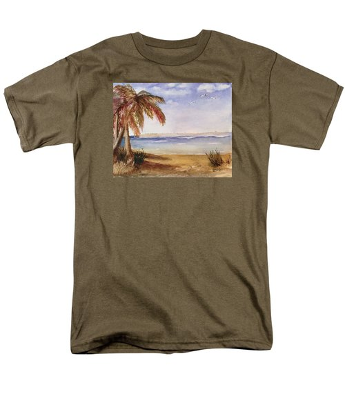Down By The Sea Men's T-Shirt  (Regular Fit)