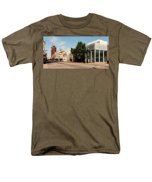 Downtown Huntington West Virginia Men's T-Shirt  (Regular Fit) by L O C