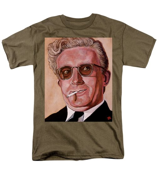 Men's T-Shirt  (Regular Fit) featuring the painting Dr Strangelove 2 by Tom Roderick