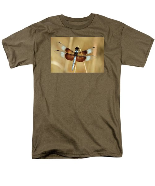 Dragonfly On Reed Men's T-Shirt  (Regular Fit) by Sheila Brown