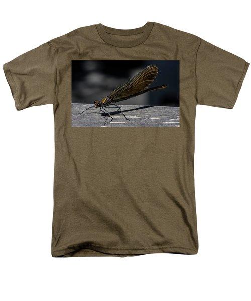 Dragonfly Men's T-Shirt  (Regular Fit) by Rainer Kersten