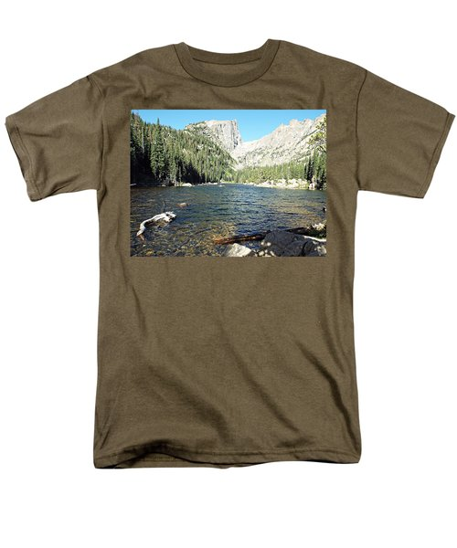 Dream Lake - Rocky Mountain National Park Men's T-Shirt  (Regular Fit) by Joseph Hendrix