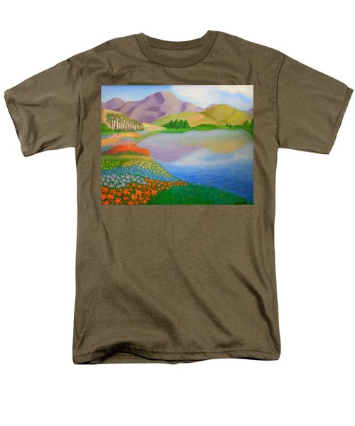 Dream Land Men's T-Shirt  (Regular Fit) by Sheri Keith