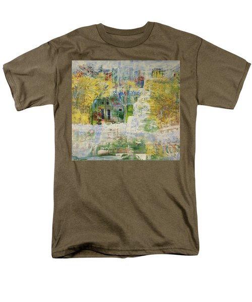 Men's T-Shirt  (Regular Fit) featuring the painting Dream Of Dreams. by Sima Amid Wewetzer