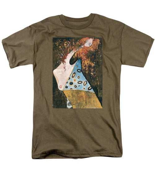 Men's T-Shirt  (Regular Fit) featuring the painting Dreaming by Maya Manolova