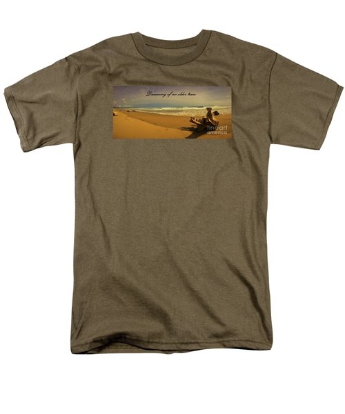 Men's T-Shirt  (Regular Fit) featuring the photograph Dreaming by Pamela Blizzard