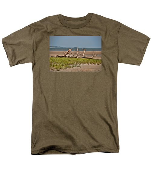 Driftwood With Baracles Men's T-Shirt  (Regular Fit) by John Black