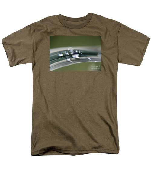 Men's T-Shirt  (Regular Fit) featuring the photograph Droplet Families  by Yumi Johnson