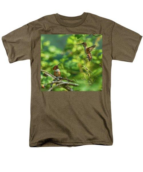 Dropped In Men's T-Shirt  (Regular Fit) by Sheldon Bilsker