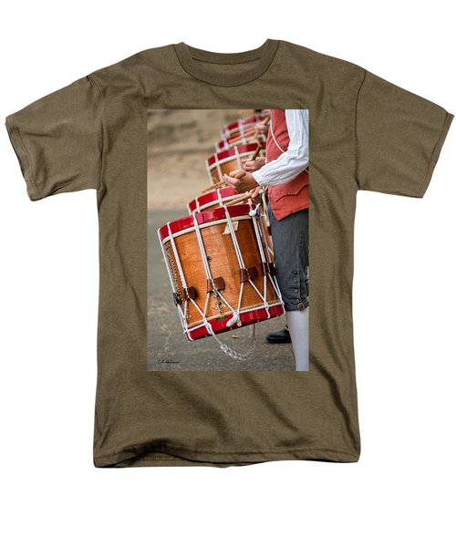 Drums Of The Revolution Men's T-Shirt  (Regular Fit) by Christopher Holmes