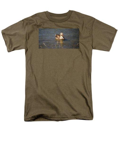 Duck On Lake Men's T-Shirt  (Regular Fit)
