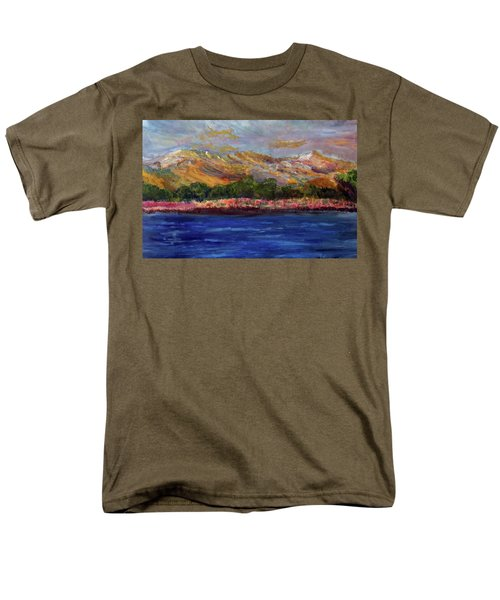 Dunes At Pilgrim Lake Men's T-Shirt  (Regular Fit) by Michael Helfen